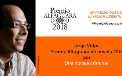 Jorge Volpi ganador premio Alfaguara 2018