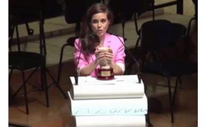 Nuria Gago Premio Azorín 2018