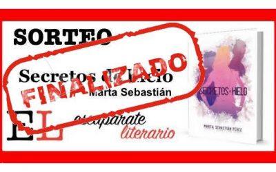 Sorteo: Secretos de hielo (Marta Sebastián)