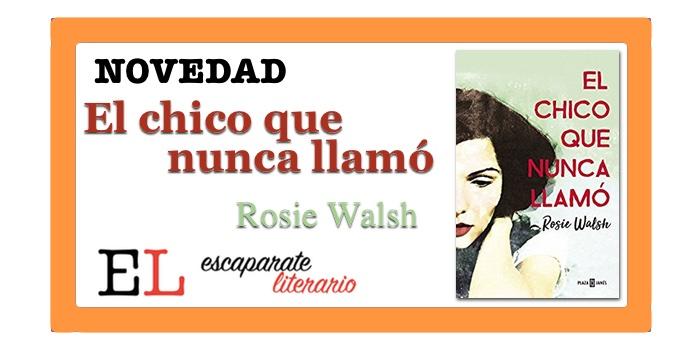 El chico que nunca llamó (Rosie Walsh)