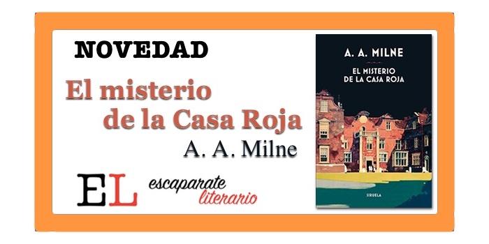 El misterio de la Casa Roja (A. A. Milne)