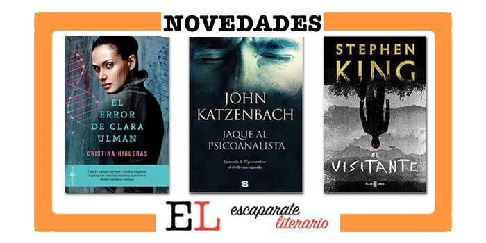 Novedades editoriales otoño de 2018: los libros que vienen y me apetece leer I