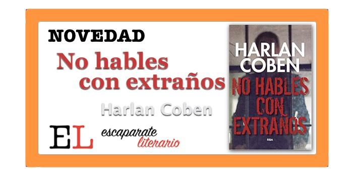 No hables con extraños (Harlan Coben)