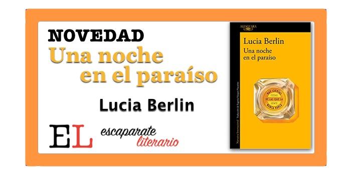 Una noche en el paraíso (Lucia Berlin)