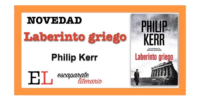 Laberinto griego (Philip Kerr)