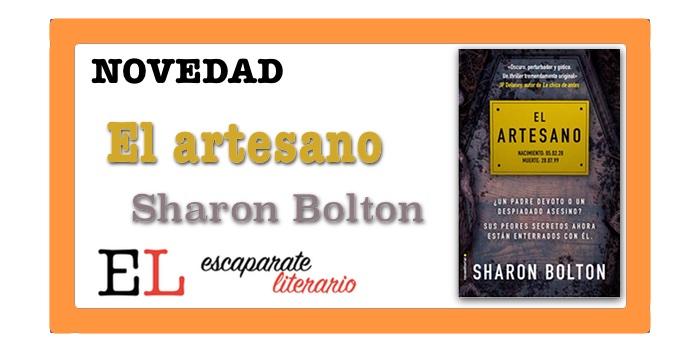 El artesano (Sharon Bolton)