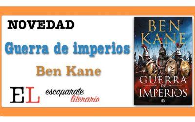 Guerra de imperios (Ben Kane)