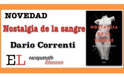 Nostalgia de la sangre (Dario Correnti)