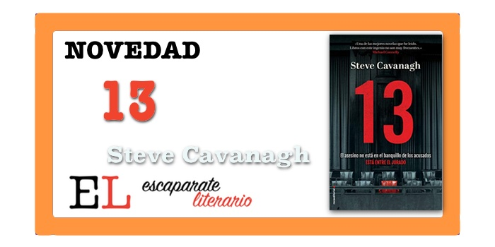 13 (Steve Cavanagh)