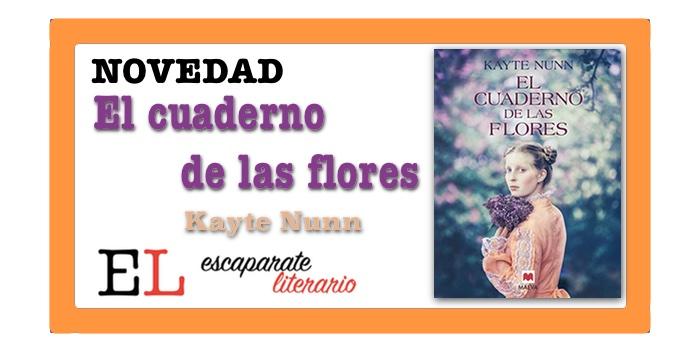El cuaderno de las flores (Kayte Nunn)