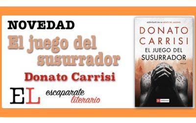 El juego del susurrador (Donato Carrisi)