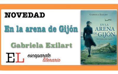 En la arena de Gijón (Gabriela Exilart)