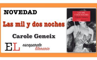 Las mil y dos noches (Carole Geneix)