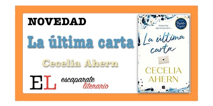 La última carta (Cecelia Ahern)