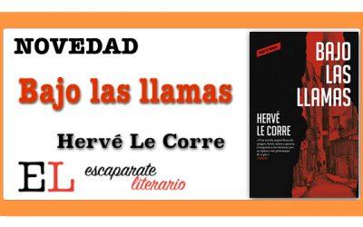 Bajo las llamas (Hervé Le Corre)