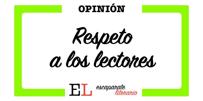 respeto a los lectores