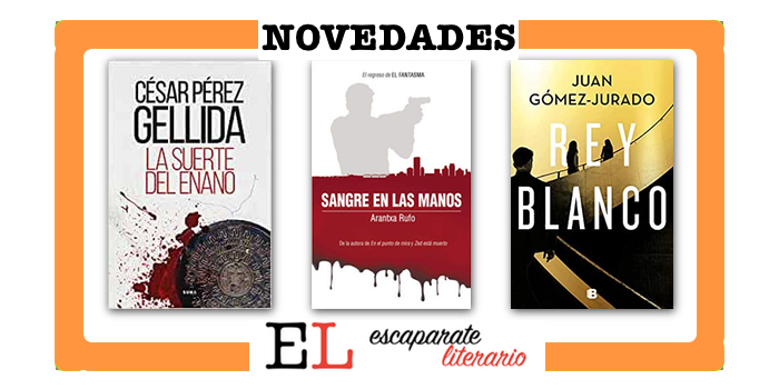 Novedades editoriales cuarto trimestre de 2020: novela negra y criminal