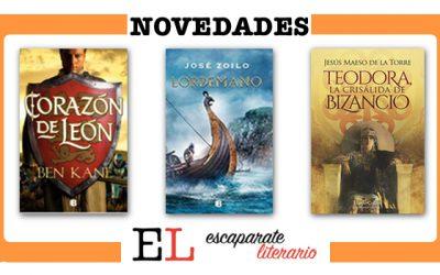 Novedades editoriales cuarto trimestre de 2021: novela histórica